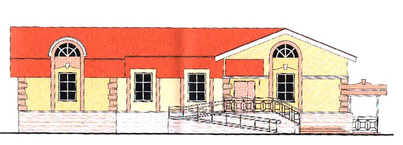 новостройка возле церкви