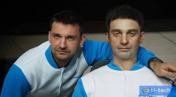 В России создали робота-двойника человека. Он стоит 1 млн рублей (фото, видео)
