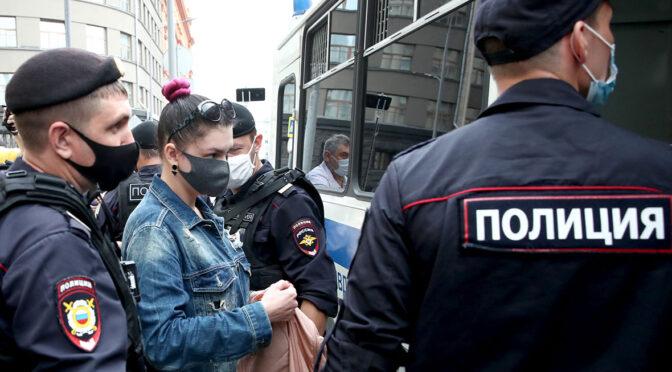 Правозащитники назвали три проблемы из-за запрета пикетов в Москве