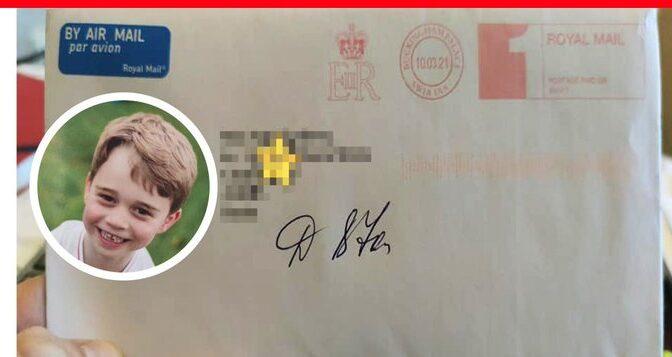 Шестилетняя девочка из Челябинска получила письмо от принца Джорджа